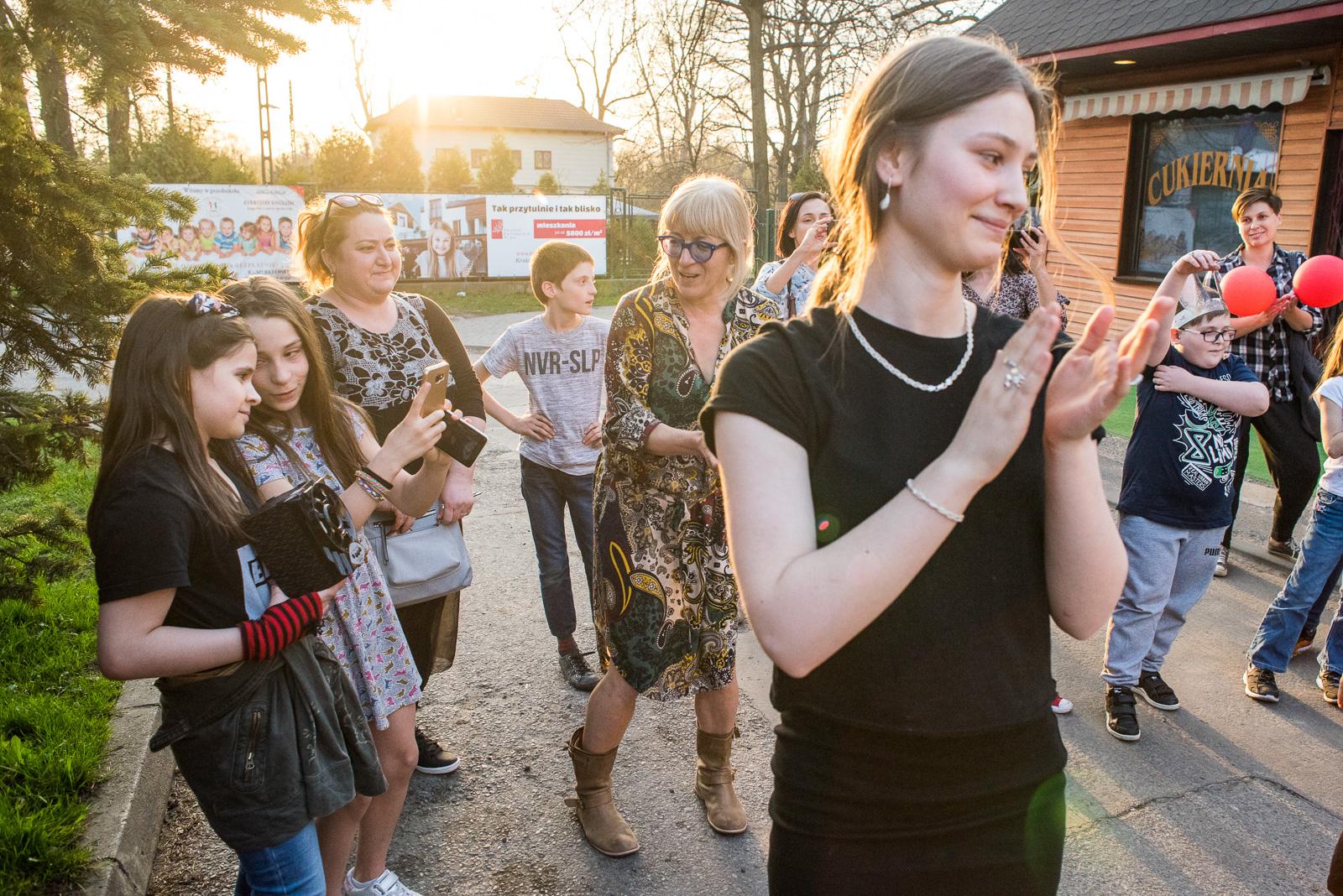 Dzieci z Dworca Brześć w Krakowie